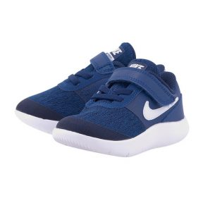 Nike – Nike Flex Contact (TD) Toddler 917935-400 – ΜΠΛΕ ΣΚΟΥΡΟ