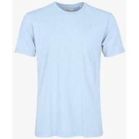 T-shirt με κοντά μανίκια Colorful Standard T-shirt Polar Blue [COMPOSITION_COMPLETE]