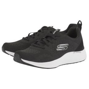 Skechers – Skechers Soft Knit Lace-Up W 13043BLK – ΜΑΥΡΟ