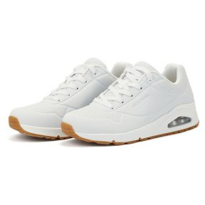 Skechers – Skechers Durabuck Lace Up 73690WHT – λευκο