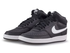 Nike – Nike Court Vision Mid CD5436-001 – μαυρο/λευκο